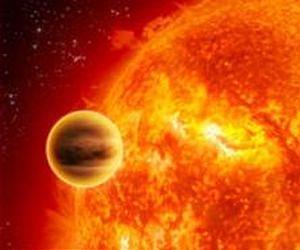 A hot Jupiter